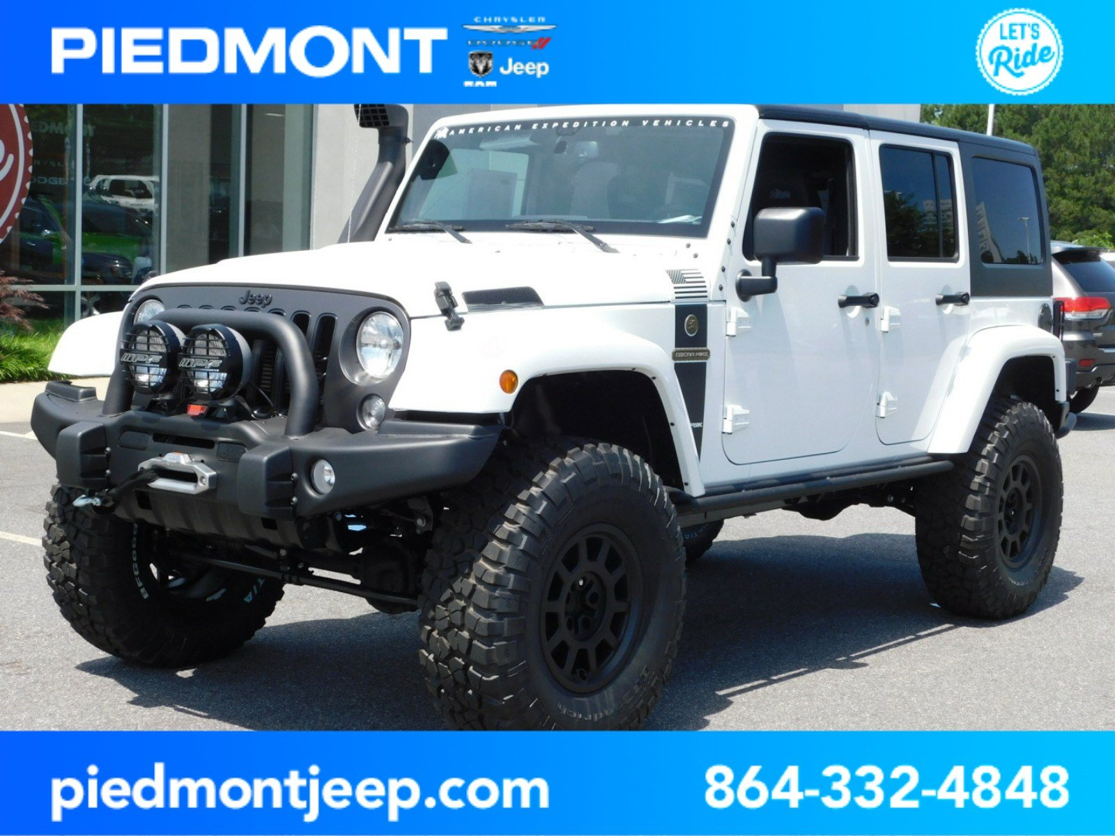 New 2018 JEEP Wrangler Unlimited Freedom Edition AEV