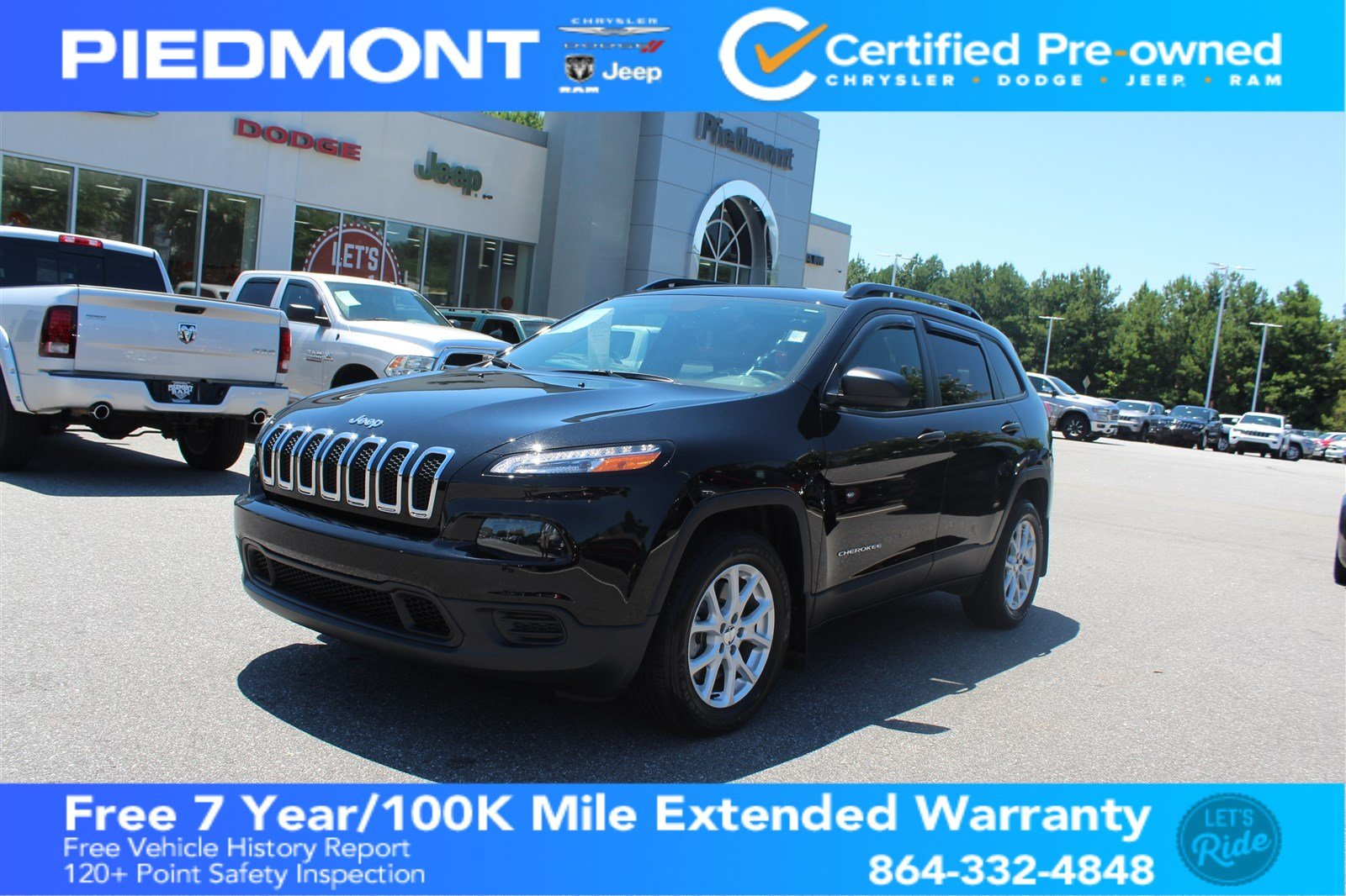 Marvelous Certified Pre Owned 2017 Jeep Cherokee Sport FWD