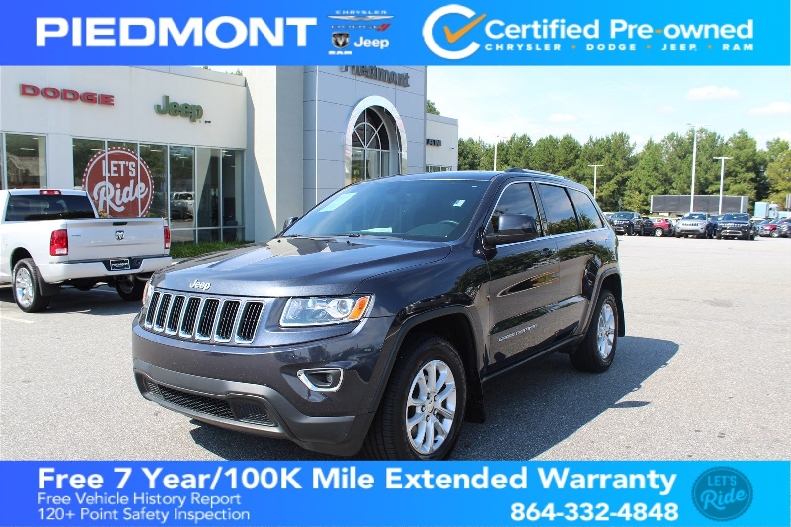 Certified Pre Owned 2016 Jeep Grand Cherokee RWD 4dr Laredo