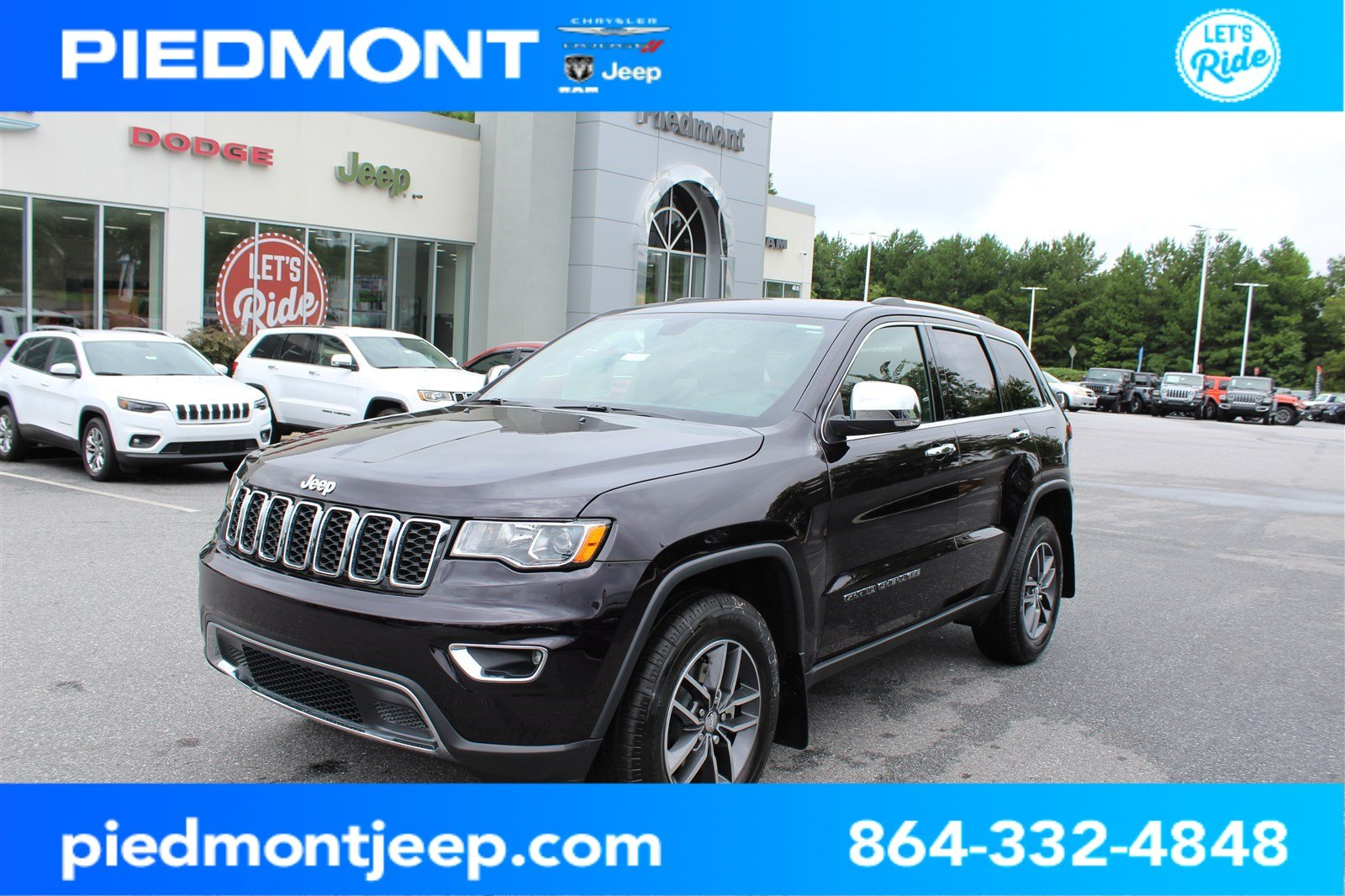 New 2018 Jeep Grand Cherokee Limited Sport Utility In Anderson Towing Wire Harness Hook Up