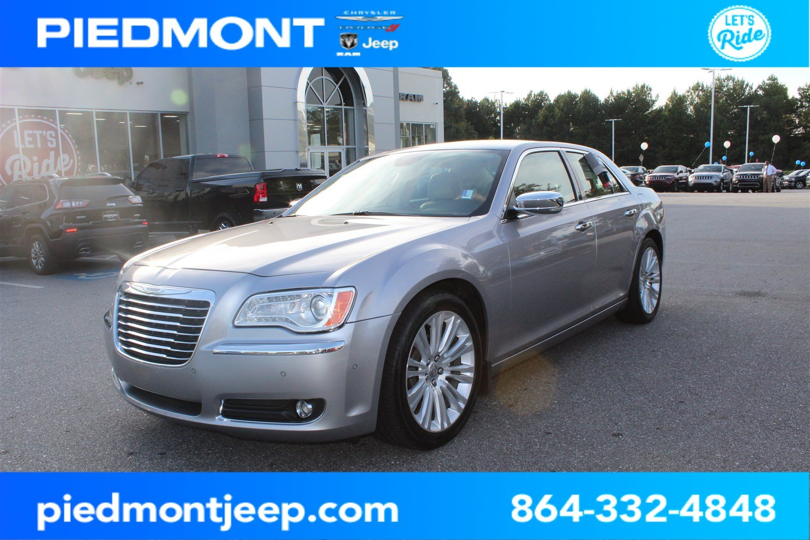 Pre-Owned 2013 Chrysler 300 4dr Sdn 300C RWD