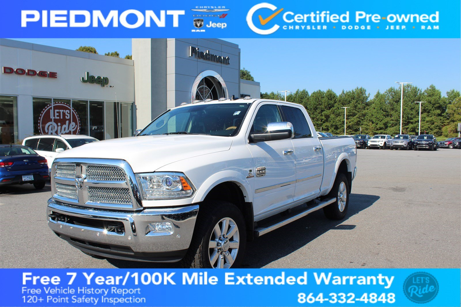 Certified Pre-Owned 2016 Ram 2500 Laramie Longhorn w/ Navigation