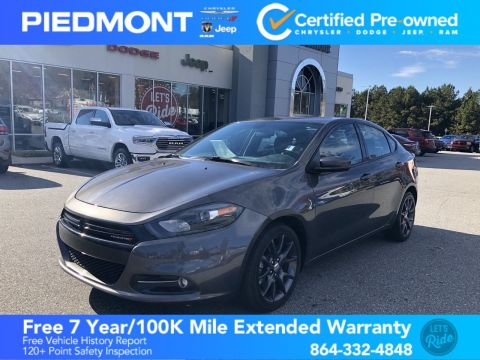 Certified Pre-Owned 2016 Dodge Dart 4dr Sdn SXT *Ltd Avail*