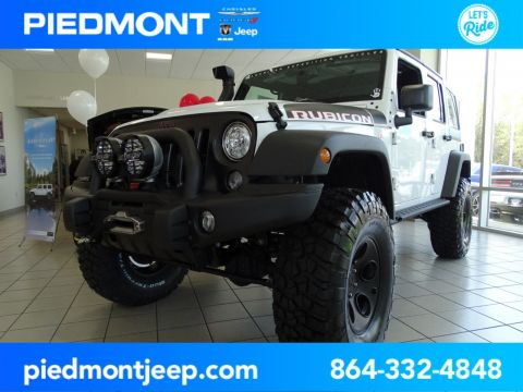 New 2018 JEEP Wrangler Unlimited Rubicon Recon