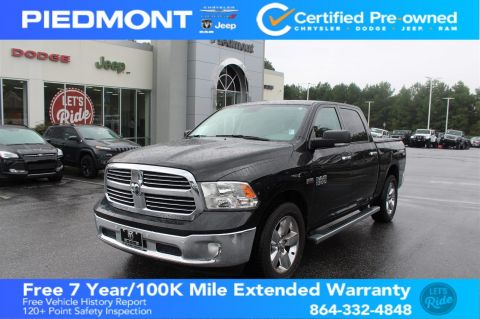 Certified Pre-Owned 2016 Ram 1500 2WD Crew Cab 140.5 Big Horn