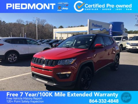 Pre-Owned 2018 Jeep Compass Altitude FWD