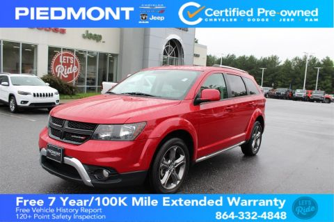 Certified Pre-Owned 2016 Dodge Journey AWD 4dr Crossroad